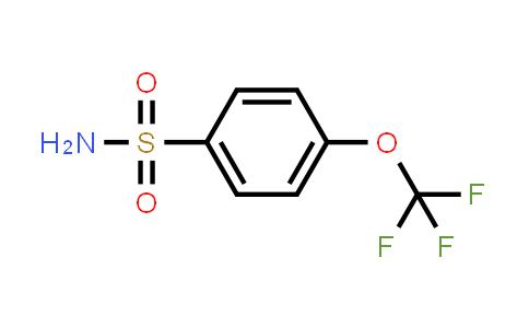 1513-45-7 | 4-(Trifluoromethoxy)benzenesulfonamide