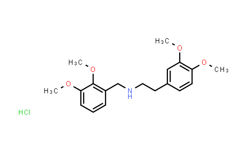102321-59-5 | N-[(2,3-dimethoxyphenyl)methyl]-3,4-dimethoxy-benzeneethanamine hydrochloride