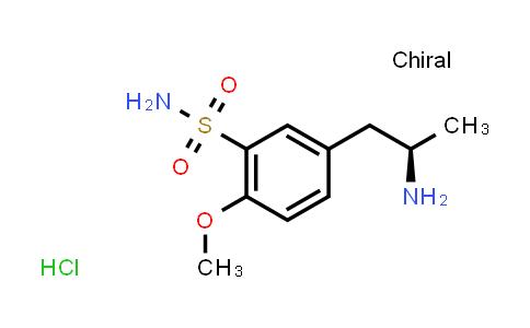 112101-75-4 | (R)-(+)-5-(2-AMINOPROPYL)-2-METHOXYBENZENE SULFONAMIDE HYDROCHLORIDE