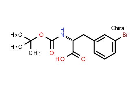 261360-77-4 | (R)-N-Boc-3-Bromophenylalanine