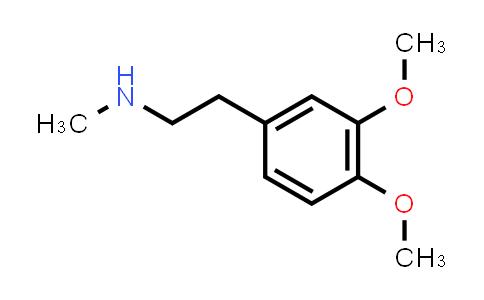 3490-06-0   N-Methylhomoveratrylamine