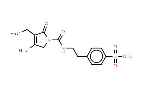 DY460717 | 119018-29-0 | 4-[2-[(3-Ethyl-4-methyl-2-oxo-3-pyrrolin-1-yl)carboxamido]ethyl]benzenesulfonamide