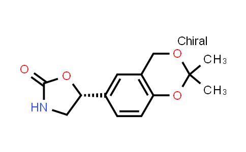 452339-73-0 | (5R)-2-Oxazolidinone, 5-(2,2-diMethyl-4H-1,3-benzodioxin-6-yl)
