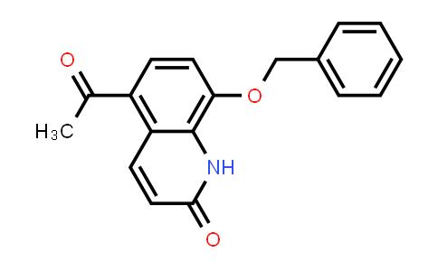 DY460748 | 93609-84-8 | 2(1H)-Quinolinone, 5-acetyl-8-(phenylmethoxy)-