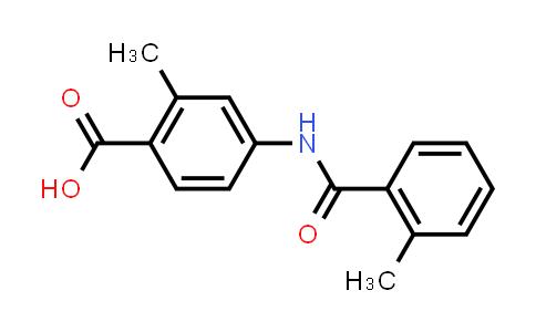 317374-08-6 | 2-Methyl-4-(2-methyl-benzoylamino)benzoic acid