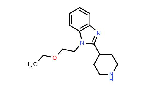 DY460756 | 110963-63-8 | 1-(2-Ethoxyethyl)-2-(4-piperidinyl)-1H-benzimidazole