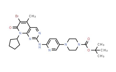 571188-82-4 | tert-butyl 4-{6-[(6-bromo-8-cyclopentyl-5-methyl-7-oxo-7,8-dihydropyrido[2,3-d]pyrimidin-2-yl)amino]pyridin-3-yl}piperazine-1-carboxylate