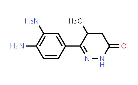 DY460764 | 74150-02-0 | 3(2H)-Pyridazinone, 6-(3,4-diaminophenyl)-4,5-dihydro-5-methyl-