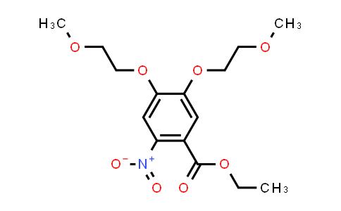 179688-26-7 | Ethyl 4,5-bis(2-methoxyethoxy)-2-nitrobenzoate