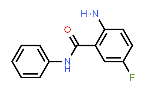 60041-89-6   Benzamide, 2-amino-5-fluoro-N-phenyl-