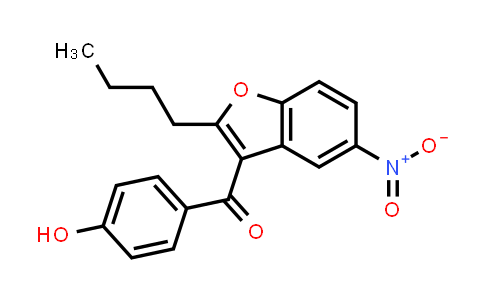 MC460779 | 141645-16-1 | 2-butyl-3-(4-hydroxybenzoyl)-5-nitrobenzofuran