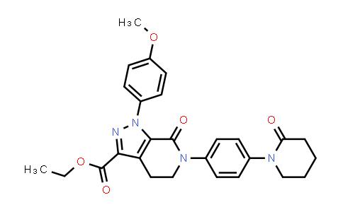 DY460781 | 503614-91-3 | 1-(4-Methoxyphenyl)-7-oxo-6-[4-(2-oxopiperidin-1-yl)phenyl]-4,5,6,7-tetrahydro-1H-pyrazolo[3,4-c]pyridine-3-carboxylic acid ethyl ester