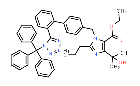DY460786 | 189400-21-3 | 4-(1-Hydroxy-1-methylethyl)-2-propyl-1-[[2'-[(triphenylmethyl)-1H-tetrazol-5-yl][1,1'-biphenyl]-4-yl]methyl]-1H-imidazole-5-carboxylic acid ethyl ester