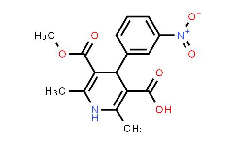 DY460792 | 74936-72-4 | 1,4-dihydro-5-methoxycarbonyl-2,6-dimethyl-4-(3-nitrophenyl)pyridine-3-carboxylic Acid