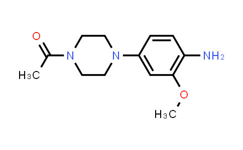 DY460796 | 1021426-42-5 | 4-(4-Acetyl-1-piperazinyl)-2-(methyloxy)aniline