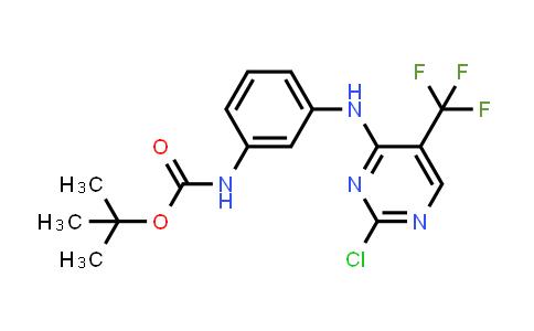 MC460797 | 1374507-23-9 | N-[3-[[2-Chloro-5-(trifluoromethyl)-4-pyrimidinyl]amino]phenyl]carbamic acid 1,1-dimethylethyl ester