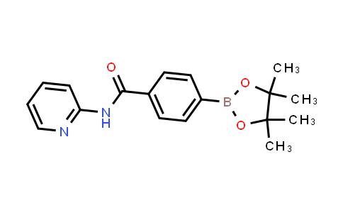 DY460800 | 1383385-64-5 | N-(pyridin-2-yl)-4-(4,4,5,5-tetramethyl-1,3,2-dioxaborolan-2-yl)benzamide