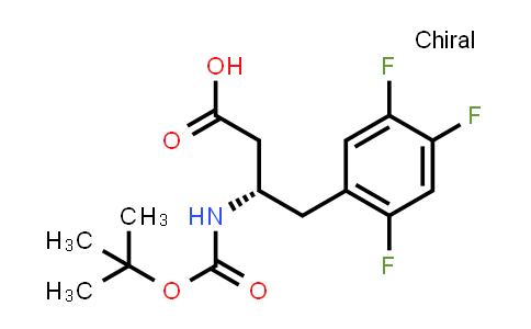 922178-94-7 | Boc-(S)-3-Amino-4-(2,4,5-Trifluorophenyl)-butyric acid