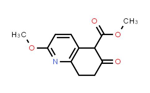 DY460892 | 130518-34-2 | Methyl 2-methoxy-6-oxo-5,6,7,8-tetrahydro-5-quinolinecarboxylate
