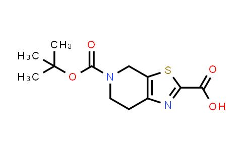 DY460949 | 165948-21-0 | 5-(Tert-Butoxycarbonyl)-4,5,6,7-tetrahydrothiazolo[5,4-c]pyridine-2-carboxylic acid