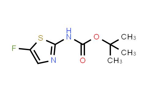 MC460987 | 731018-54-5 | tert-butyl (5-fluoro-1,3-thiazol-2-yl)carbamate
