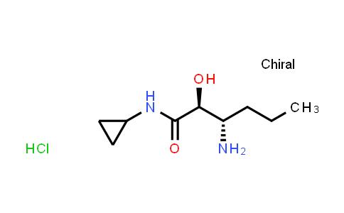 MC460993 | 944716-73-8 | (2S,3S)-3-Amino-N-cyclopropyl-2-hydroxyhexanamide hydrochloride