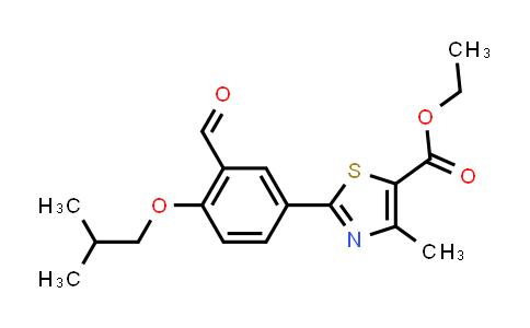 161798-03-4 | Ethyl 2-(3-Formyl-4-isobutoxyphenyl)-4-Methylthiazole-5-Carboxylate