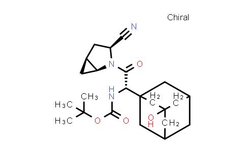 709031-43-6 | tert-Butyl [(1S)-2-[(1S,3S,5S)-3-cyano-2-azabicyclo[3.1.0]hex-2-yl]-1-(3-hydroxyadamantan-1-yl)-2-oxoethyl]carbamate