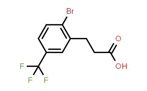 869725-56-4   Benzenepropanoic acid, 2-bromo-5-(trifluoromethyl)-