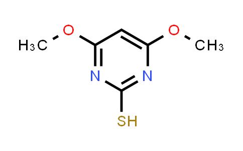 MC461283   57235-35-5   4,6-Dimethoxy-2-Mercaptopyrimidine