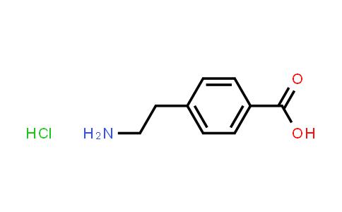 MC461335   60531-36-4   4-(2-Aminoethyl)benzoic acid hydrochloride