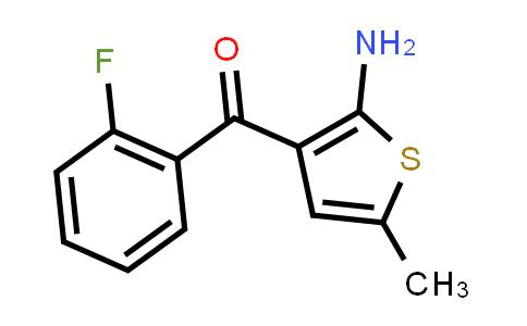 51687-28-6 | (2-Amino-5-methyl-3-thienyl)(2-fluorophenyl)methanone