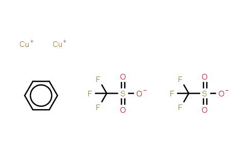 42152-46-5   Copper(I) trifluoromethanesulfonate benzene complex.