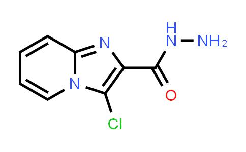 1000017-99-1 | Imidazo[1,2-a]pyridine-2-carboxylic acid, 3-chloro-, hydrazide