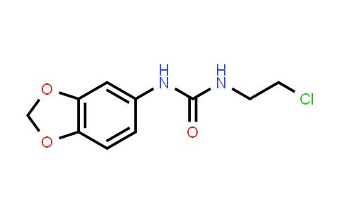 1000018-00-7 | Urea, N-1,3-benzodioxol-5-yl-N'-(2-chloroethyl)-