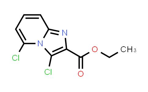 1000018-01-8   Imidazo[1,2-a]pyridine-2-carboxylic acid, 3,5-dichloro-, ethyl ester
