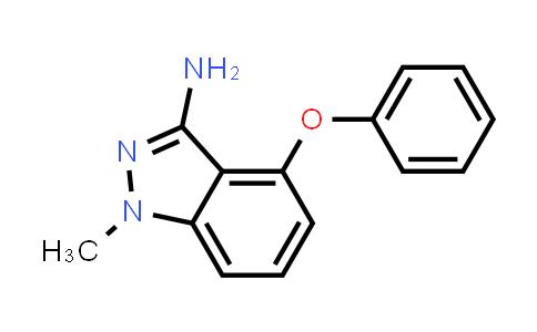 1000018-07-4 | 1H-Indazol-3-amine, 1-methyl-4-phenoxy-