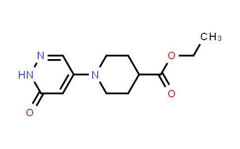 1000018-23-4 | 4-Piperidinecarboxylic acid, 1-(1,6-dihydro-6-oxo-4-pyridazinyl)-, ethyl ester