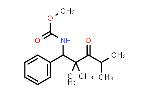 1000018-26-7 | Carbamic acid, N-(2,2,4-trimethyl-3-oxo-1-phenylpentyl)-, methyl ester