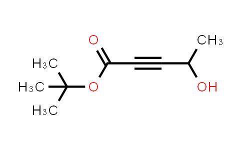 1000021-62-4 | tert-Butyl 4-hydroxypent-2-ynoate