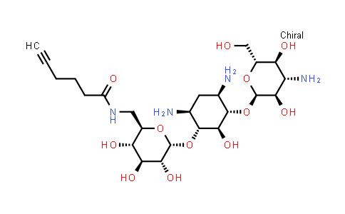 1000022-33-2 | D-Streptamine, O-3-amino-3-deoxy-α-D-glucopyranosyl-(1→6)-O-[6-deoxy-6-[(1-oxo-5-hexyn-1-yl)amino]-α-D-glucopyranosyl-(1→4)]-2-deoxy-