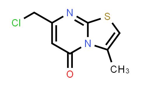 100003-81-4   7-(Chloromethyl)-3-methyl-5H-[1,3]thiazolo[3,2-a]pyrimidin-5-one