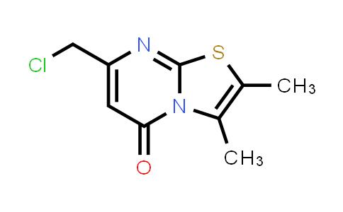 100003-82-5 | 7-(Chloromethyl)-2,3-dimethyl-5H-thiazolo[3,2-a]pyrimidin-5-one