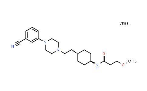 1000036-77-0 | Propanamide, N-[trans-4-[2-[4-(3-cyanophenyl)-1-piperazinyl]ethyl]cyclohexyl]-3-methoxy-