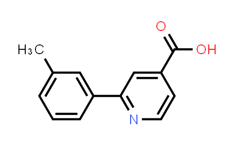 100004-94-2 | 4-Pyridinecarboxylic acid, 2-(3-methylphenyl)-