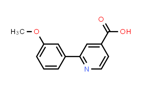 100004-95-3 | 4-Pyridinecarboxylic acid, 2-(3-methoxyphenyl)-
