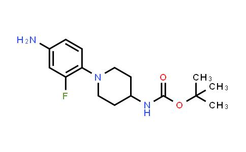 1000053-23-5 | Carbamic acid, N-[1-(4-amino-2-fluorophenyl)-4-piperidinyl]-, 1,1-dimethylethyl ester