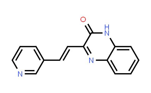 1000169-10-7 | 2(1H)-Quinoxalinone, 3-[(1E)-2-(3-pyridinyl)ethenyl]-