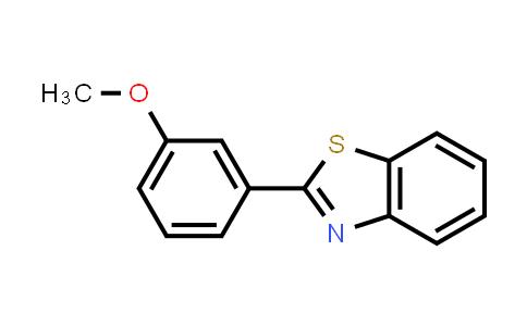 10002-44-5 | Benzothiazole, 2-(m-methoxyphenyl)-
