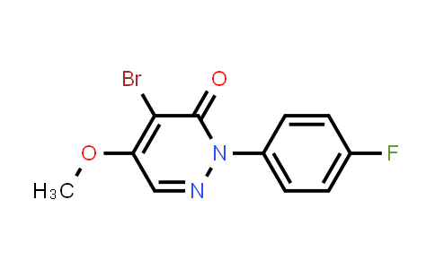 10002-76-3   3(2H)-Pyridazinone, 4-bromo-2-(4-fluorophenyl)-5-methoxy-